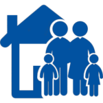 family-of-four-in-front-of-their-home_blue