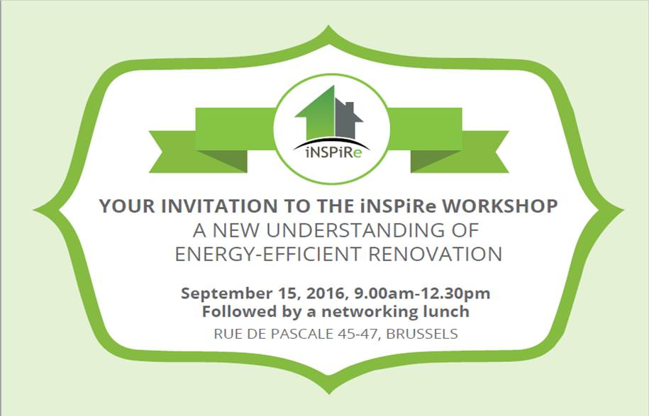 Conference – A new understanding of energy-efficient renovation