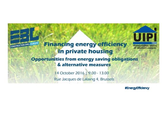 EBC-UIPI Event II – Retrofitting the private housing stock