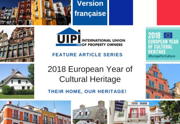 UIPI lance une série d'article sur le patrimoine culturel bâti