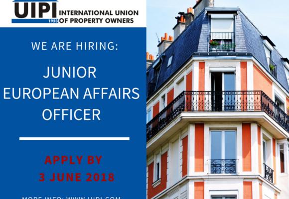 We are hiring: Junior European Affairs Officer!