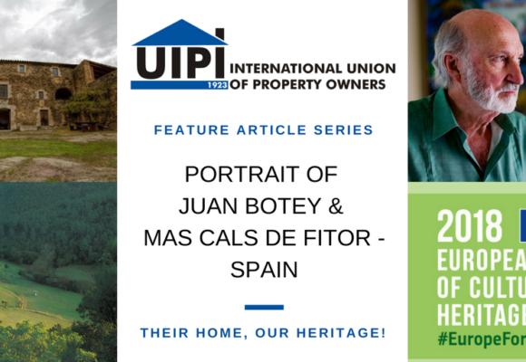 Portrait N°2: Spain – UIPI 2018 Feature Series on Building Heritage